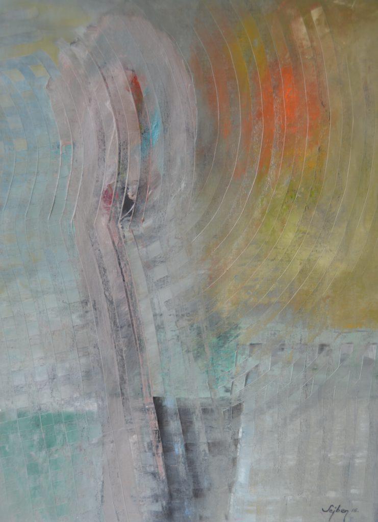 Hullámok-Waves olaj, vászon,58x43cm oil,canvas,